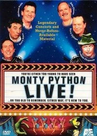 monty python live dvd cover