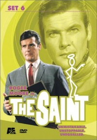 The Saint: Set 6 DVD cover art