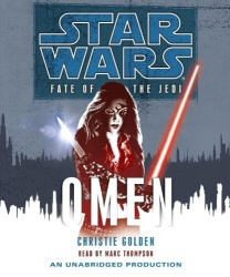 Star Wars: Fate of the Jedi: Omen unabridged audiobook cover art