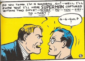 Superman captured