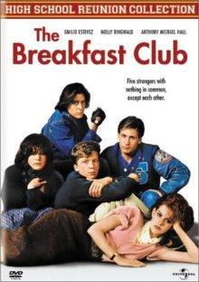 Breakfast Club DVD cover art