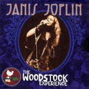 Janis Joplin: The Woodstock Experience CD cover art