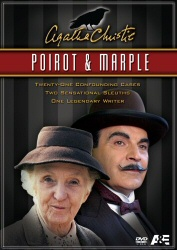 Poirot and Marple DVD cover art