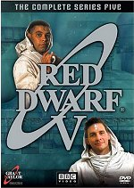 Red Dwarf: The Complete Series Five DVD cover art