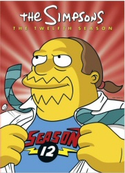 The Simpsons: The Twelfth Season DVD cover art