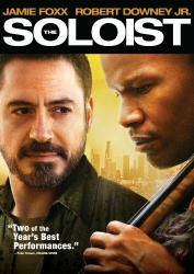 The Soloist DVD cover art