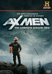 Ax Men: The Complete Season Two DVD cover art