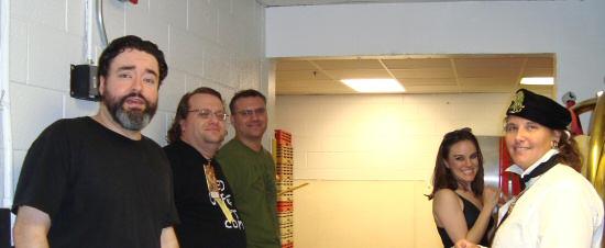 DragonCon 2009 Backstage at the Hyatt