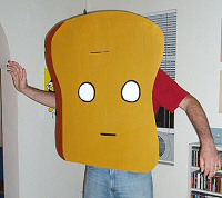 mr toast costume