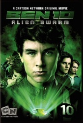 Ben 10: Alien Swarm DVD cover art