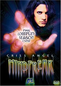 Criss Angel: Mindfreak: The Complete Season One DVD cover art