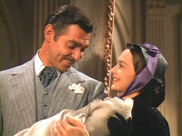 Greg Giese as an infant in Gone With the Wind