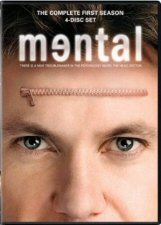 Mental: The Complete First Season DVD cover art