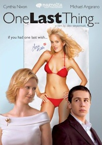 One Last Thing DVD cover