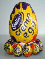 Giant Cadbury Creme Egg
