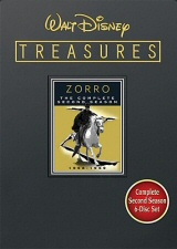 Walt Disney Treasures: Zorro: The Complete Second Season DVD