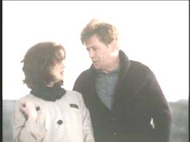 Martin Sheen and Blair Brown in Kennedy