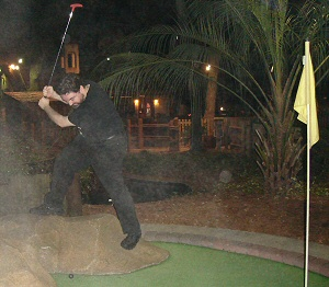 Widge and his killer swing