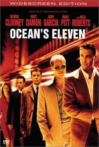 Ocean's Eleven (2001) DVD cover