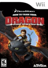 How to Train Your Dragon Wii video game
