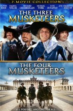 The Three Musketeers/The Four Musketeers DVD Cover Art