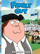 Family Guy Volume 8 DVD Cover Art