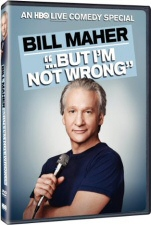 Bill Maher 'But I'm Not Wrong' DVD Cover Art