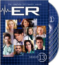 ER Season 13 DVD Cover Art