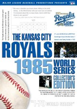 Kansas City Royals 1985 World Series Collector's Edition DVD Cover Art