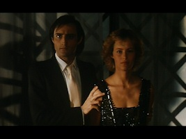 Daniel Mesguich and Gabrielle Lazure in La Belle Captive