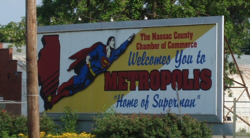 Welcome to Metropolis, Home of Superman