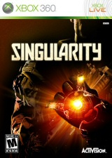 Singularity Xbox 360 Cover Art