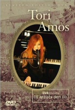 Tori Amos: Live From the Artists Den DVD Cover Art
