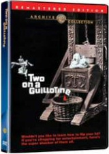 Two on a Guillotine DVD Cover Art