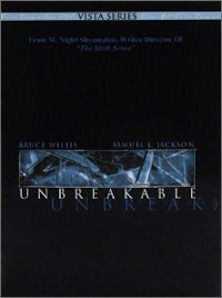 Unbreakable DVD cover