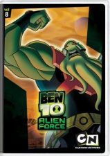 Ben 10 Alien Force Volume 8 DVD Cover Art