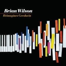 Brian Wilson Reimagines Gershwin CD Cover Art