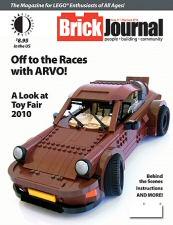 Brick Journal #11 Cover Art