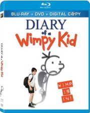 Diary of a Wimpy Kid Blu-ray Cover Art