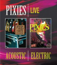 Pixies Live: Acoustic and Electric Blu-ray Cover Art