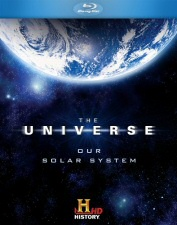 The Universe: Our Solar System Blu-ray Cover Art