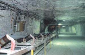 A salt mine in Kansas