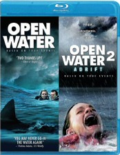Open Water & Open Water 2 Blu-ray Cover Art