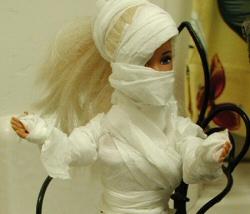 Mummified Barbie