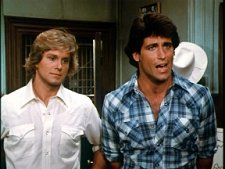 Coy and Vance from Dukes of Hazzard Season 5