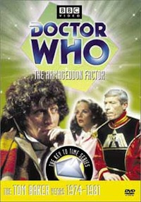 Doctor Who The Armageddon Factor DVD cover