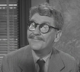 Burgess Meredith in The Twilight Zone