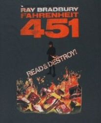 Fahrenheit 451: Out of Print t-shirt