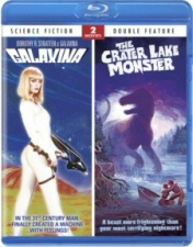 Galaxina and The Crater Lake Monster Blu-Ray
