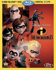 Incredibles Blu-Ray